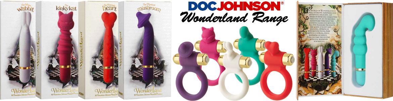 doc johnson wonderland sex toys range