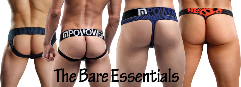 The bare essentials - mens underwear
