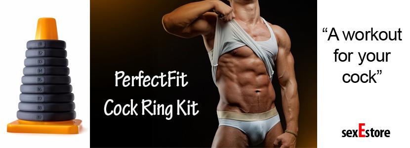 PerfectFit cock ring kit